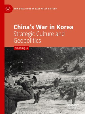 cover image of China's War in Korea