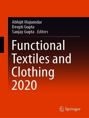 cover image of Functional Textiles and Clothing 2020
