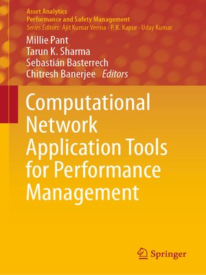 cover image of Computational Network Application Tools for Performance Management
