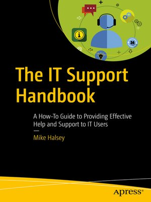 cover image of The IT Support Handbook