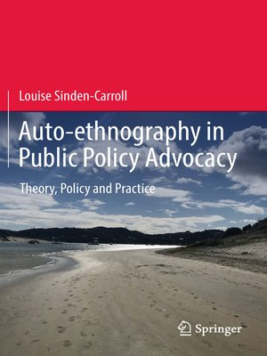 cover image of Auto-ethnography in Public Policy Advocacy