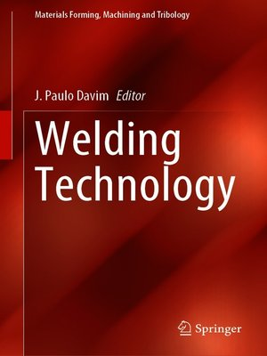 cover image of Welding Technology