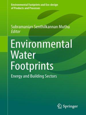 cover image of Environmental Water Footprints