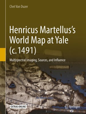 cover image of Henricus Martellus's World Map at Yale (c. 1491)