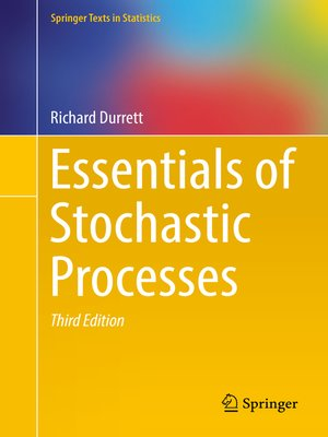 cover image of Essentials of Stochastic Processes