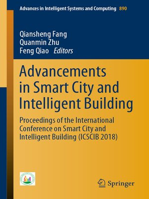 cover image of Advancements in Smart City and Intelligent Building