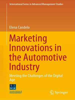 cover image of Marketing Innovations in the Automotive Industry