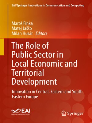 cover image of The Role of Public Sector in Local Economic and Territorial Development