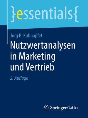 cover image of Nutzwertanalysen in Marketing und Vertrieb