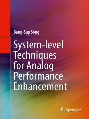 cover image of System-level Techniques for Analog Performance Enhancement