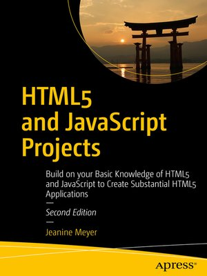 cover image of HTML5 and JavaScript Projects