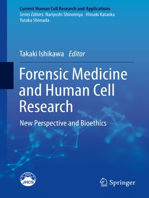 cover image of Forensic Medicine and Human Cell Research