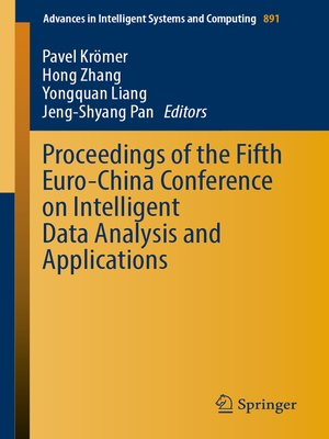 cover image of Proceedings of the Fifth Euro-China Conference on Intelligent Data Analysis and Applications