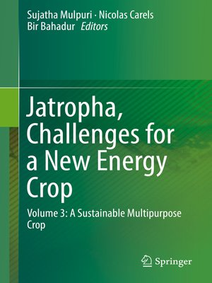 cover image of Jatropha, Challenges for a New Energy Crop