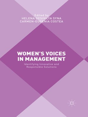 cover image of Women's Voices in Management