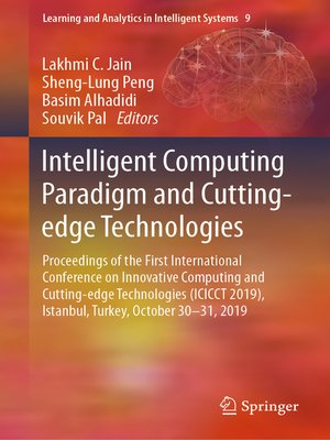 cover image of Intelligent Computing Paradigm and Cutting-edge Technologies