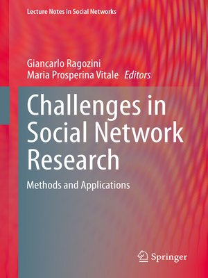 cover image of Challenges in Social Network Research