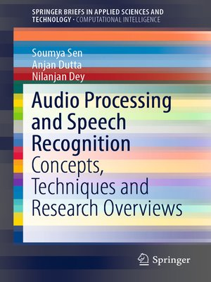 cover image of Audio Processing and Speech Recognition