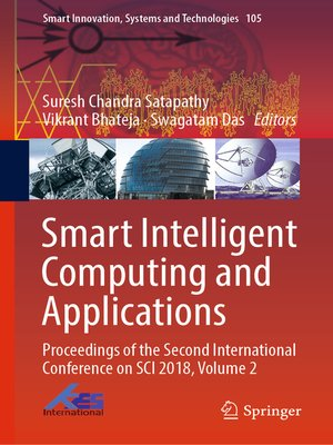 cover image of Smart Intelligent Computing and Applications