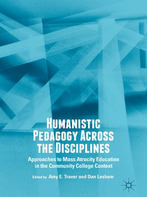 cover image of Humanistic Pedagogy Across the Disciplines