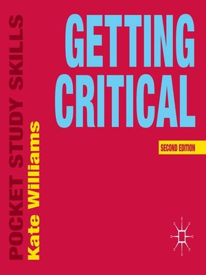 cover image of Getting Critical