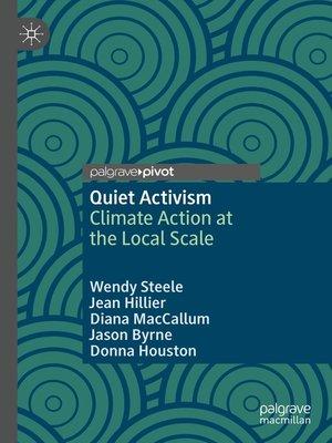 cover image of Quiet Activism