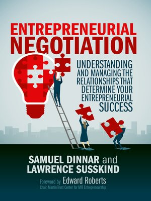 cover image of Entrepreneurial Negotiation