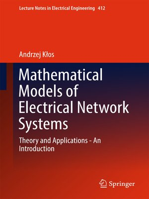 cover image of Mathematical Models of Electrical Network Systems