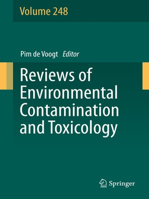 cover image of Reviews of Environmental Contamination and Toxicology Volume 248