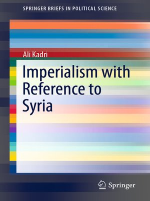 cover image of Imperialism with Reference to Syria