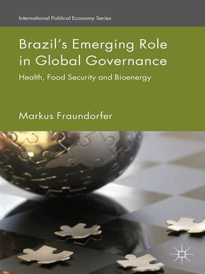 cover image of Brazil's Emerging Role in Global Governance