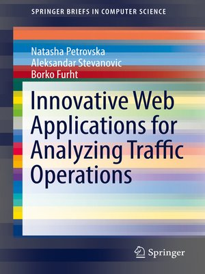 cover image of Innovative Web Applications for Analyzing Traffic Operations