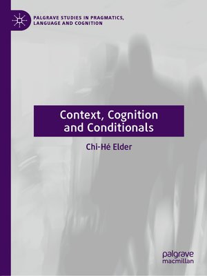 cover image of Context, Cognition and Conditionals
