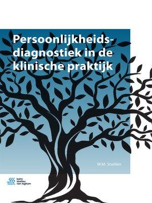 cover image of Persoonlijkheidsdiagnostiek in de klinische praktijk