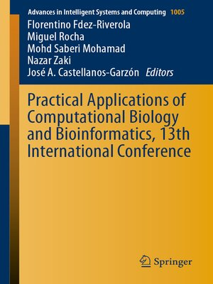 cover image of Practical Applications of Computational Biology and Bioinformatics, 13th International Conference