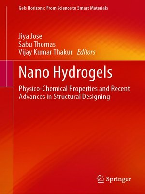 cover image of Nano Hydrogels