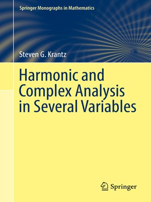 cover image of Harmonic and Complex Analysis in Several Variables