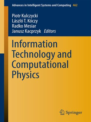 cover image of Information Technology and Computational Physics