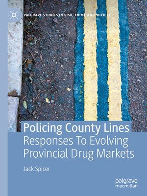 cover image of Policing County Lines
