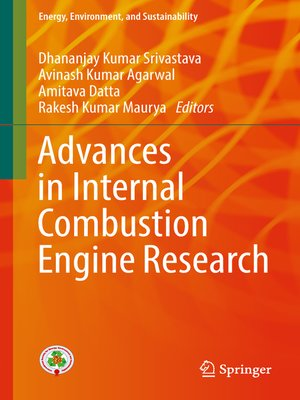 cover image of Advances in Internal Combustion Engine Research