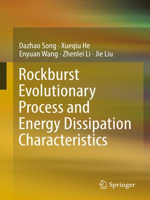 cover image of Rockburst Evolutionary Process and Energy Dissipation Characteristics