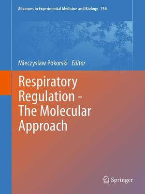 cover image of Respiratory Regulation--The Molecular Approach