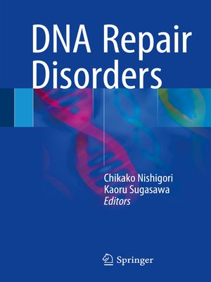 cover image of DNA Repair Disorders