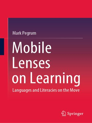 cover image of Mobile Lenses on Learning