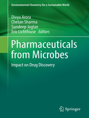cover image of Pharmaceuticals from Microbes