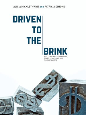 cover image of Driven to the Brink
