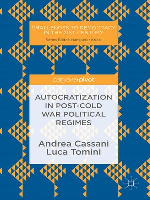 cover image of Autocratization in post-Cold War Political Regimes