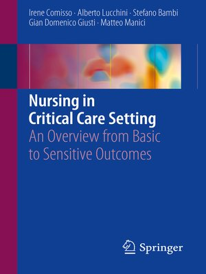 cover image of Nursing in Critical Care Setting