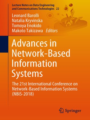 cover image of Advances in Network-Based Information Systems
