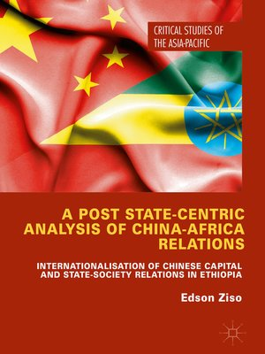 cover image of A Post State-Centric Analysis of China-Africa Relations